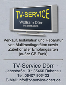 TV-Service Dörr, besuchen Sie uns...